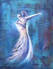 L0012 - Bridal Dance (Giclee canvas print 20x24)