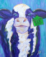 M1122 Holy Cow ~ Limited edition 11x14 print matted to 16x20