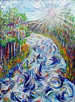 P047 - River of Life (11x17 limited edition matted print)