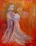 K0092 - Dance With Me (giclee canvas print 22x28)