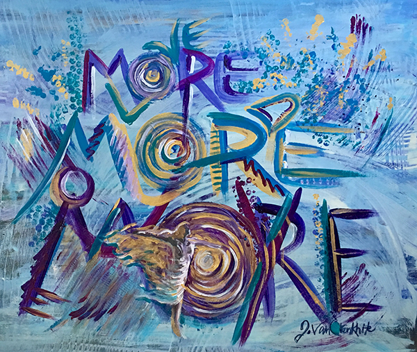 So Much More(Giclee canvas print 24x20 stretched)
