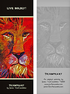 Triumphant - Bookmark
