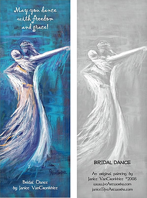 Bridal Dance - Bookmark