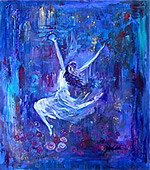 K0067 - Dancing Bride (Giclee canvas print 16x20)