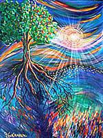 L0018 - Tree of Life (Limited edition 11x14 print matted to 16x20)