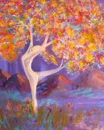 M1112b Dance of Life 2 ~ Giclee Canvas Print 20 x 24