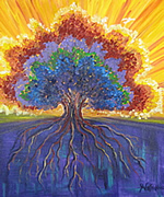 K0098 - A New Day (Giclee print on canvas 16x20)