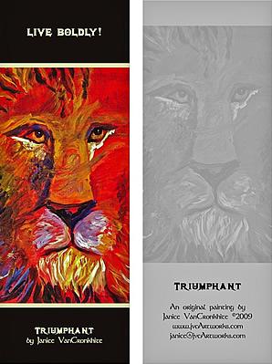 Triumphant - Bookmark
